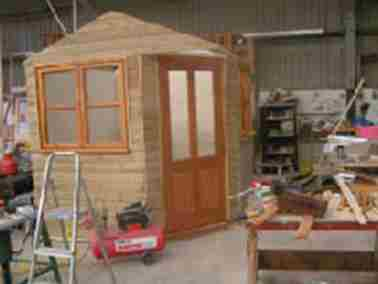 Garden Shed Design Shepperton Case Study 02