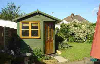 Garden Shed Design Shepperton Case Study 01