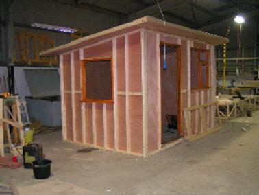 Garden Hobby Room Case Study Under Contruction 02